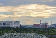 Mining Enrichment Plant Royalty Free Stock Photos