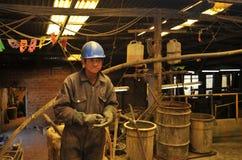 Mining - enrichment plant in Potosi Royalty Free Stock Image