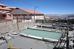 Mining - enrichment plant in Potosi Royalty Free Stock Photos
