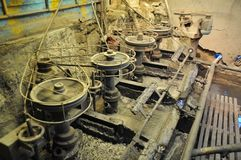 Mining - enrichment plant in Potosi. Stock Photography