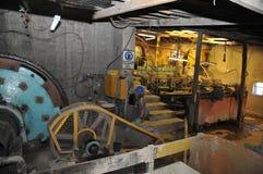 Mining - enrichment plant in Potosi. Stock Image