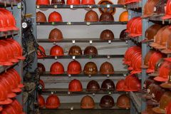 Mining equipment Royalty Free Stock Photography