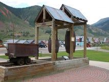 Mining Equipment - Colorado Royalty Free Stock Photos
