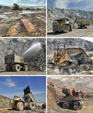mining equipment Royalty Free Stock Photos