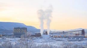 Mining factory Royalty Free Stock Image
