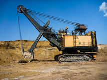 Mining industry machine Royalty Free Stock Photos