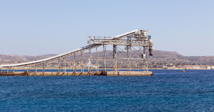 Mining industry port facility Stock Photos
