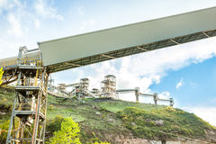 Mining infrastructure Royalty Free Stock Photography