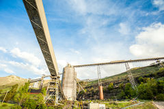Mining infrastructure Stock Images