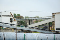 Mining infrastructure in Silesia, Poland Royalty Free Stock Photography