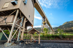 Mining infrustructure Royalty Free Stock Photography