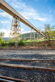 Mining infrustructure Royalty Free Stock Photo