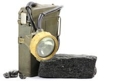 Mining lamp Stock Images