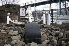 Mining machine Royalty Free Stock Image