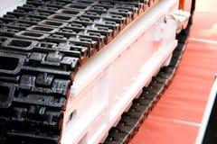 Mining machine track Royalty Free Stock Images