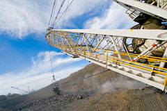 Mining machinery Stock Image