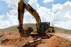 Mining Machinery Earthworks royalty free stock photo