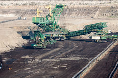 Mining machinery Stock Photography