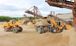Mining machinery Royalty Free Stock Photo