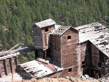 Mining Mill. An old mining mill near Zortman, Montana royalty free stock photos