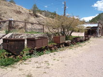 Mining in Mogollon royalty free stock photos