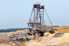 Mining open pit mine Royalty Free Stock Photography