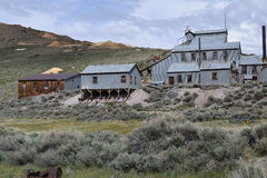 Mining part of Bodie. This is what was left of the town Bodie Stock Images