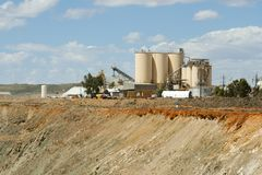 Mining Process Plant stock images
