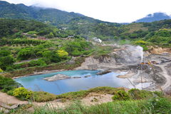 Mining quarry in Yang Ming Shan Royalty Free Stock Photography
