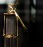 Mining safety lamp Royalty Free Stock Images