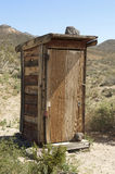 Mining shack in Mojave Desert Stock Photos