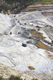 Mining site the mountains Royalty Free Stock Photo
