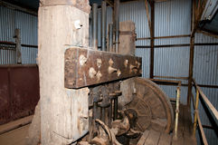 Mining Stamp Mill Stock Image