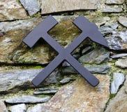 Mining symbol Royalty Free Stock Image