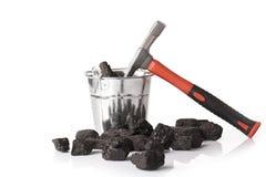 Mining tools, mining industry Stock Photos