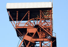 Mining Tower Stock Photography