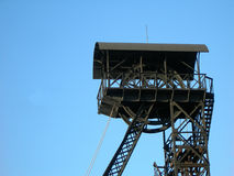 Mining tower Stock Image
