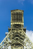 Mining tower as a memorial Stock Images