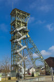 Mining tower as a memorial Royalty Free Stock Image