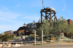 Mining town Stock Images