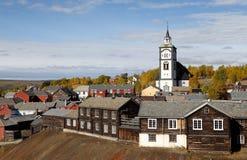 Mining Town Roros Royalty Free Stock Image