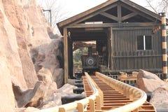 Mining tramcar Royalty Free Stock Image
