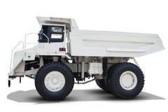 Mining truck isolated on white background Stock Photos