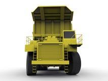 Mining vehicle illustration Stock Image