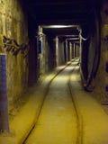 Mining - Wieliczka Salt Mine - Poland Stock Image