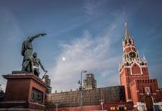 mininmonument som är pozharsky till royaltyfria foton
