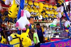 Minion carnival game prizes Stock Photo