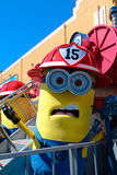 Minion Mascot from Despicable Me Royalty Free Stock Photos