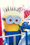 Minion Mascot from Despicable Me Stock Photo