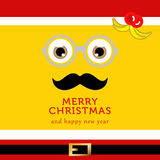 Minion ready for the christmas and new year. Merry christmas and happy new year from minion lets the celebrate Royalty Free Stock Image